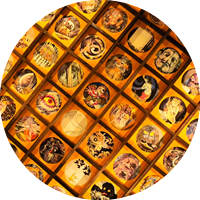 妖怪天井画の圓流院ヨガ